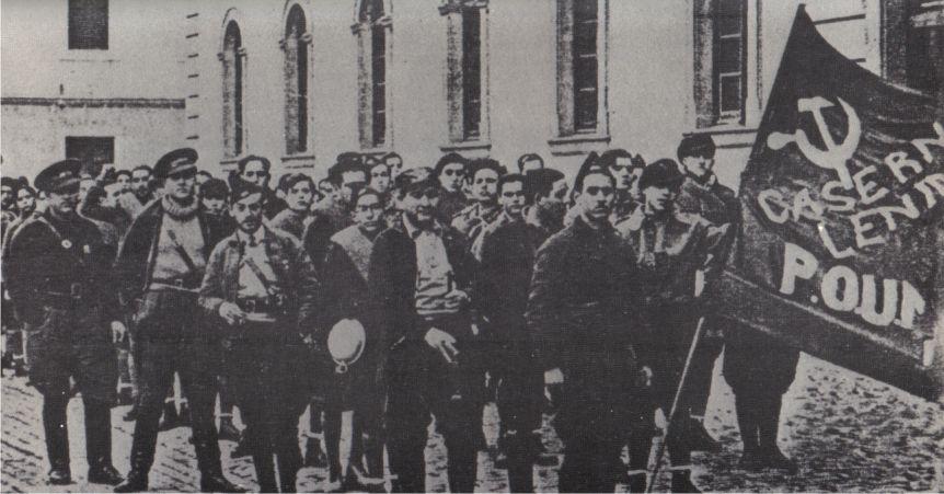 orwell spanish civil war essay